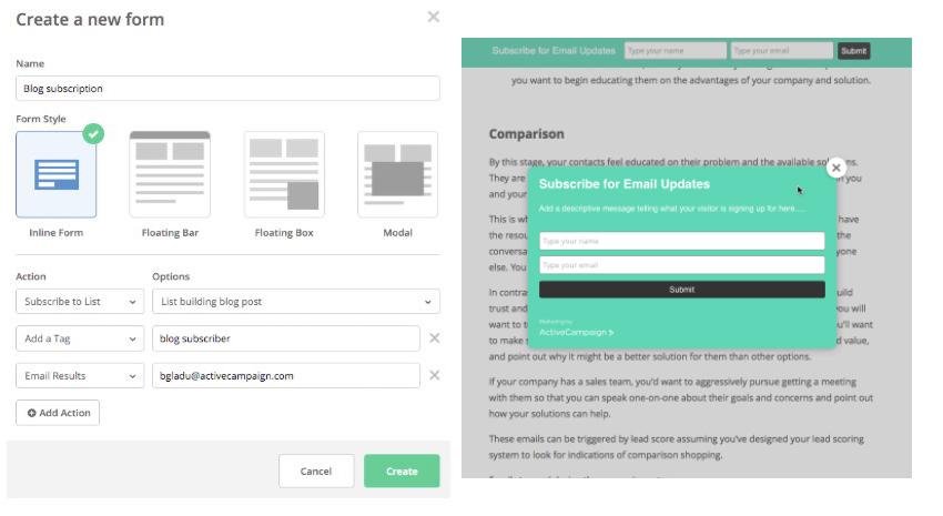 informatix email form designer copy